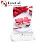 EuroCall EC-CT05C asztali, menütartós hívógomb, 4 funkciós