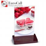 EuroCall EC-CT05CR asztali, menütartós hívógomb, 4 funkciós + RFID