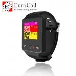 EuroCall EC-CW6 hívásjelző karóra - színes kijelzős, IP67 vízálló