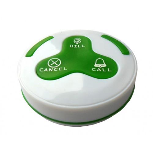 EuroCall EC-H3W vízálló hívógomb, több színben - vezeték nélküli pincérhívó rendszerhez