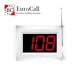 EuroCall EC-CR23 képkeret típusú kijelző vezeték nélküli hívórendszerhez