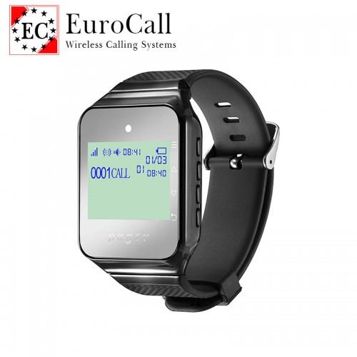 EuroCall EC-CW2C színes kijelzős hívásjelző karóra - Vezeték nélküli hívórendszerhez
