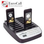 EuroCall EC-CQ1 vezeték nélküli vendéghívó, ügyfélhívó rendszer