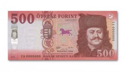 Érkezik az új 500-Ft-os bankjegy