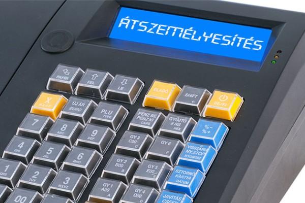 Pénztárgép átszemélyesítés, pénztárgép átírás, használt pénztárgép eladás, vagy használt pénztárgép vétele