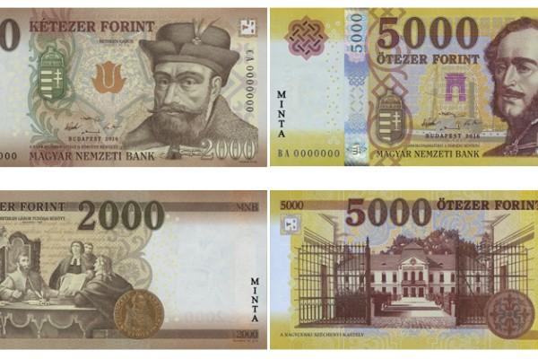 Forgalomban lévő bankjegy címletek