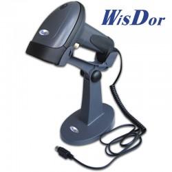 WisDor BR1-LNX lézer, vezetékes vonalkódolvasó, állvánnyal