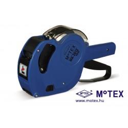 MoTEX MX-2612NEW egysoros árazógép 7 karakter, Ft jel, mértékegység és méret nyomtatással (26x12mm)