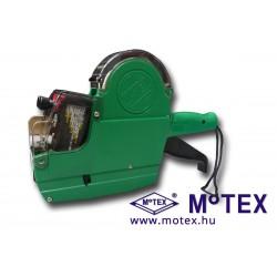 MoTEX MX-6600LPlus kétsoros árazógép, 2 x 10 karakter, Ft jel, mértékegység nyomtatással (16x23mm) + grátisz festékhengerrel