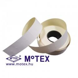 MoTEX árazócímke 22x12mm, fehér szögletes, MX-5500 NEW egysoros árazógéphez