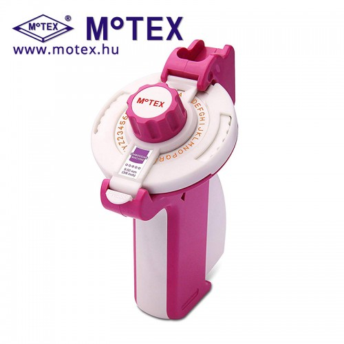 MoTEX E-202 dombornyomott címke készítő, feliratozó gép