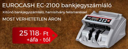 EuroCash EC-2100 bankjegyszámláló