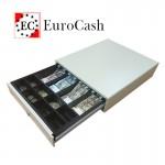 EuroCash C3540 közepes pénztárgép fiók, pénztárgép kassza - fehér