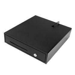 EuroCash E3336D közepes méretű pénztárgép fiók, pénztárgép kassza - fekete