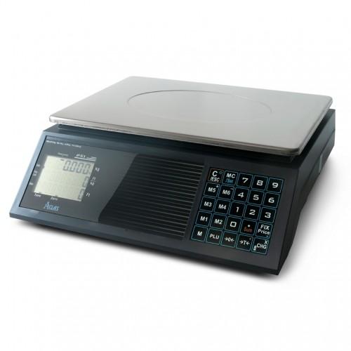 Aclas PS1B 15kg hitelesített lapos bolti mérleg