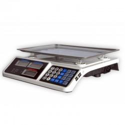 Bolti, konyhai ellenőrző mérleg - hitelesítés nélküli, 40kg méréshatárral