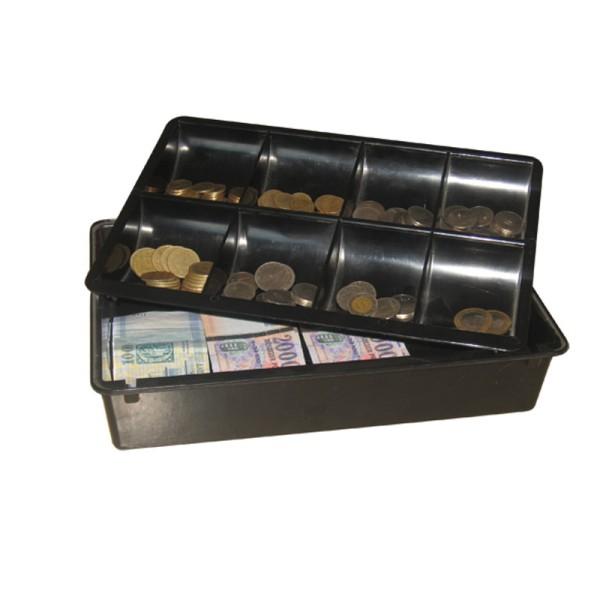 Műanyag pénztartó kassza A4