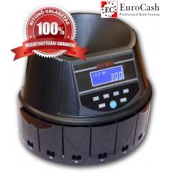 EuroCash EC-550 érmeválogató, éremszámláló gép FORINT érmékhez
