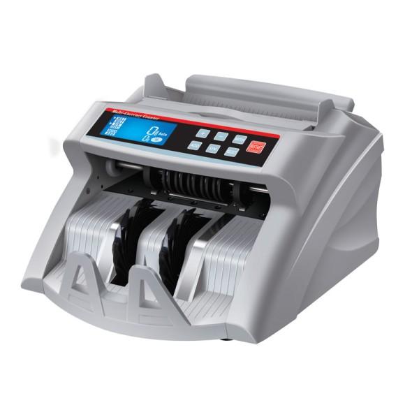 EuroCash EC-2200 bankjegyszámláló, pénzszámoló gép, kék LCD kijelzővel + Ajándék vevőkijelző