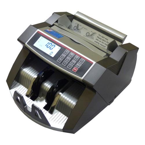 EuroCash EC-2540 bankjegyszámláló, pénzszámoló gép ( UV + IR +MG ) LCD kijelzővel + Ajándék ügyfél kijelző