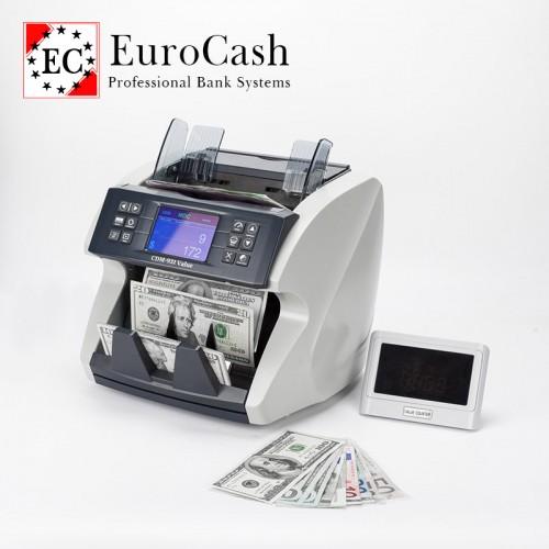EuroCash EC-5200 FORINT pénzszámoló gép, értékszámláló és pénzszortírozó funkcióval