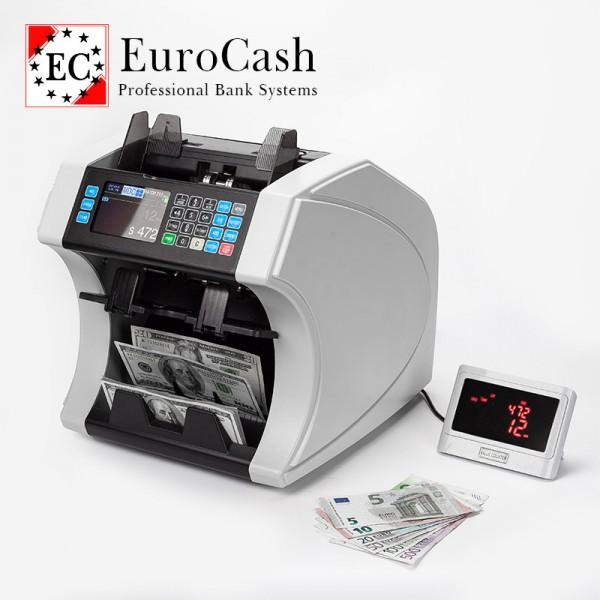 EuroCash EC-5600 bankjegyszámláló és szortírozó pénzszámoló gép - FORINT