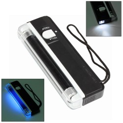 EuroCash EC-1150 hordozható bankjegyvizsgáló, pénzvizsgáló lámpa UV-A