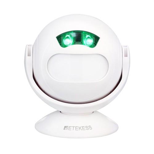 Retekess TD107 ajtó belépésjelző, mozgásérzékelős üdvözlő csengő - egyedi MP3 dallammal
