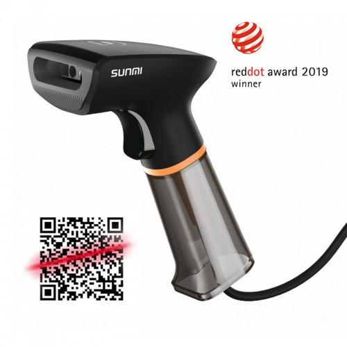 Sunmi NS021 1D, 2D QR vonalkódolvasó - USB