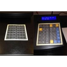 OPTIMA QMP50 Online pénztárgép billentyűzet védő fólia